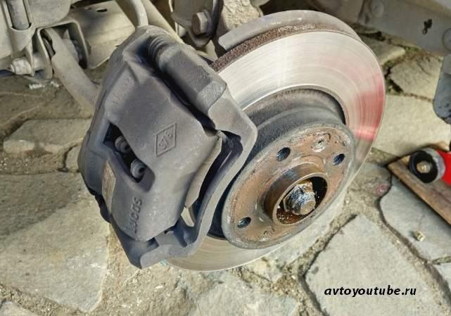 Дисковая тормозная система автомобиля