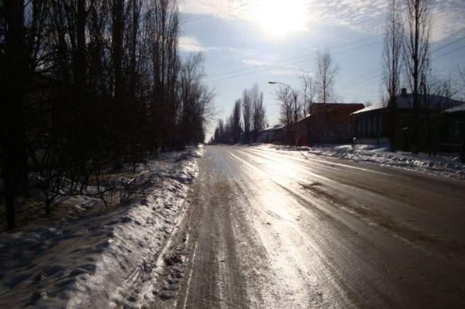 Езда по льду - правила вождения по ледяной дороге