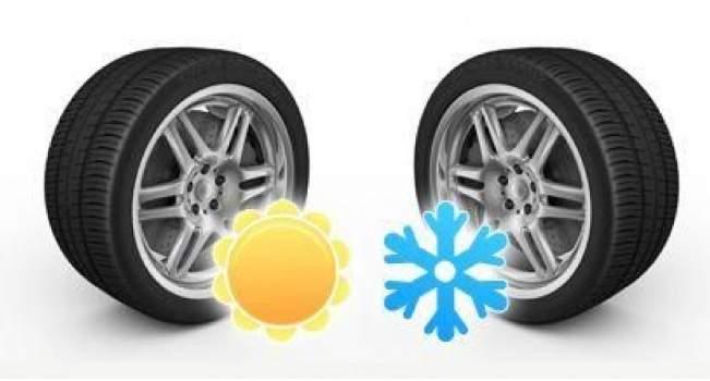 Готовимся к зиме меняем летние шины на зимние