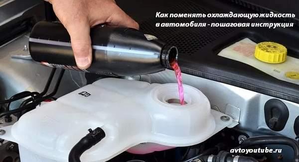 Пошаговая инструкция как правильно поменять охлаждающую жидкость в автомобилях ВАЗ классика