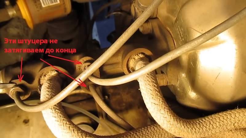 Прокачка главного тормозного цилиндра ваз классика