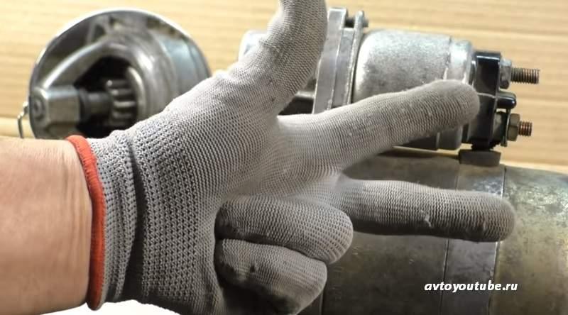 как проверить снятый с двигателя стартер