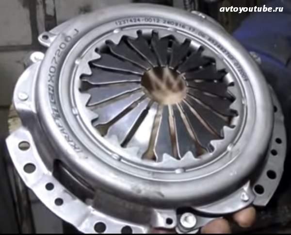 Устройство механизма сцепления в автомобили и принцип его работы