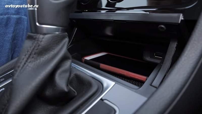 Ниша для смартфонов с USB в Golf 8