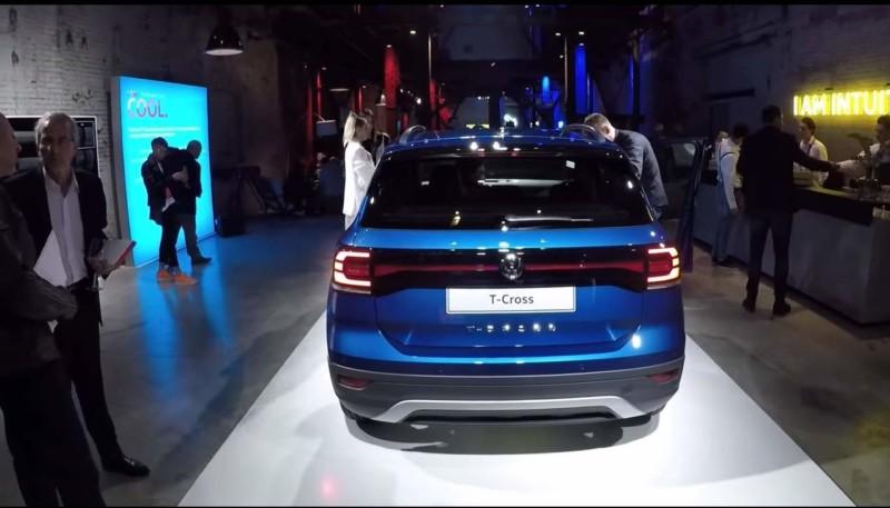Дизайн обновленного Volkswagen T-Cross 2019