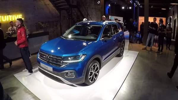 обзор и тест драйв Volkswagen T-Cross