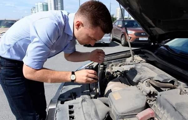 Техническая проверка перед покупкой автомобиля с пробегом