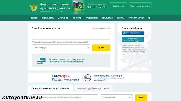 Проверка документов через базу судебных приставов