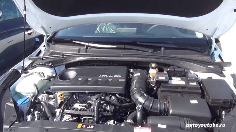 Турбо мотор 1,4 литра Киа Сид 2019 года