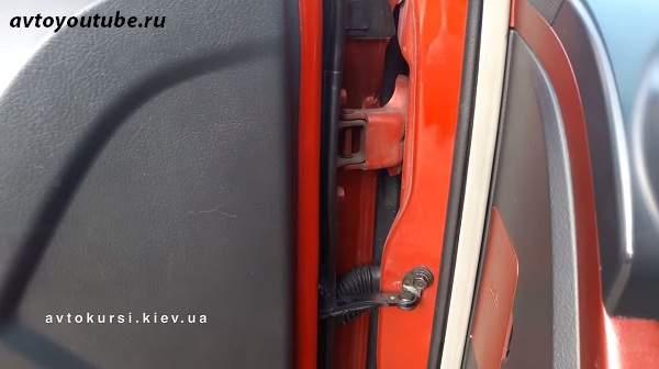 Советы новичкам - не облакачивайтесь на дверь автомобиля