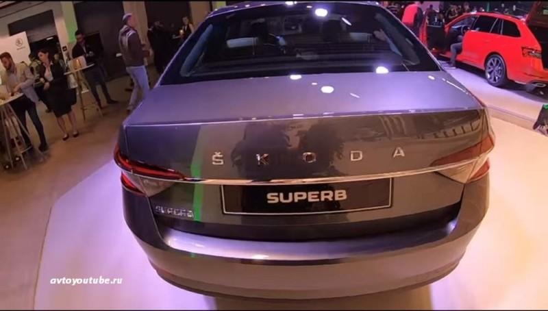Изменения во внешнем виде багажника флагмана Шкоды Суперб