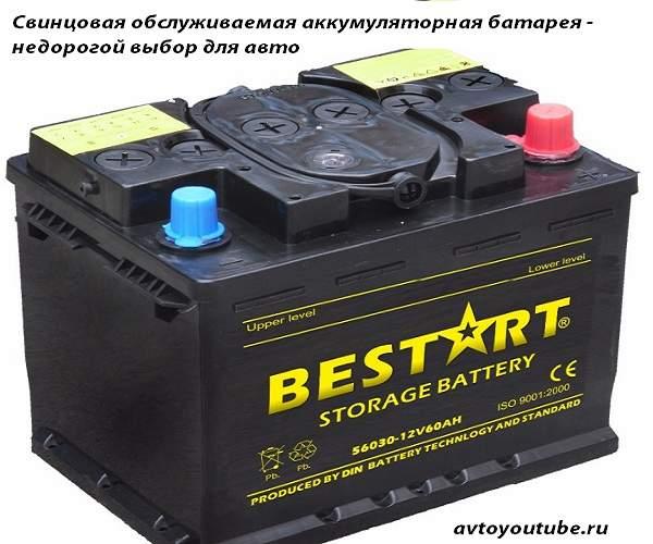 Недорогой выбор для автомобиля – свинцовая аккумуляторная батарея
