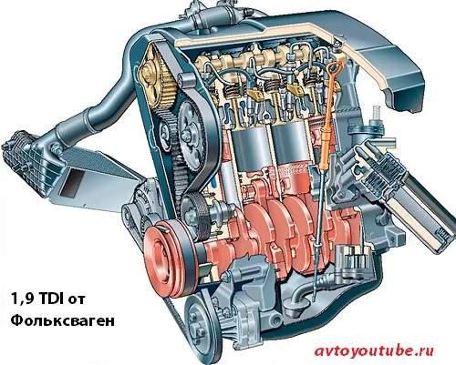 Надежный дизельный турбированный двигатель Фольксваген