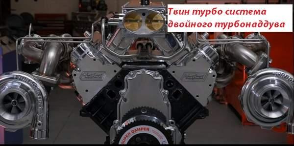 Твин турбо система двойного турбонаддува