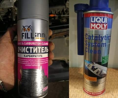 Чем можно очистить катализатор в машине